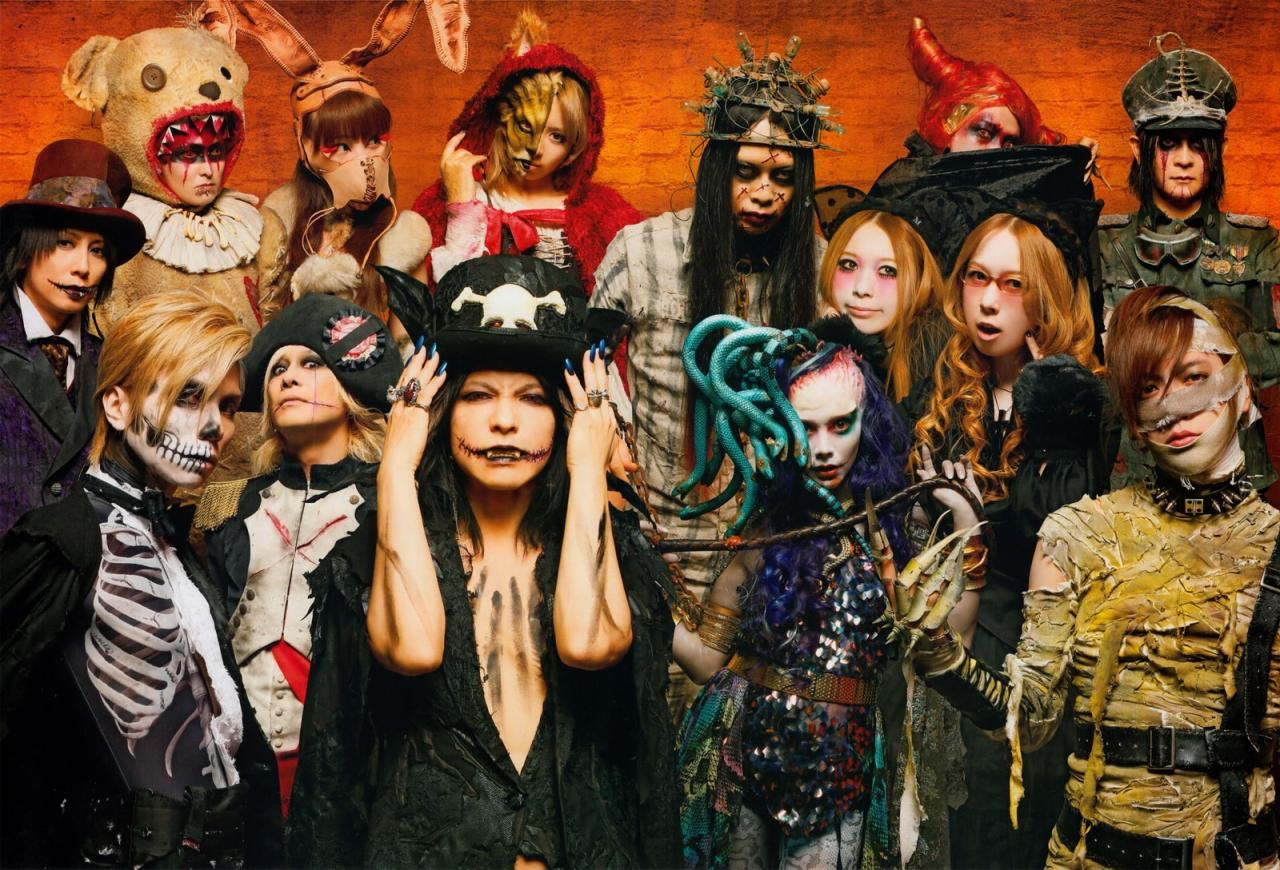 halloween Junky Orchestra au complet