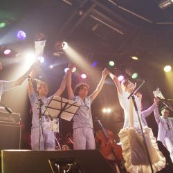 "Gallery of the live ""moonlight party~ultraMarine~"" 2014/08/08"